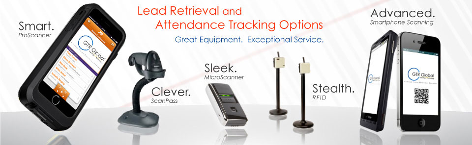 Trade Show Lead Retrieval and Attendance Tracking